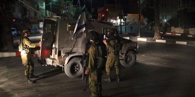 اعتقالات صهيونية ليلية